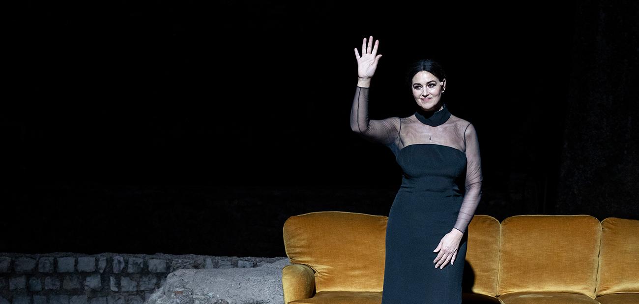 Maria Callas – Letters and Memories, by Tom Volf, with Monica Bellucci -  Centro Cultural de Belém Foundation